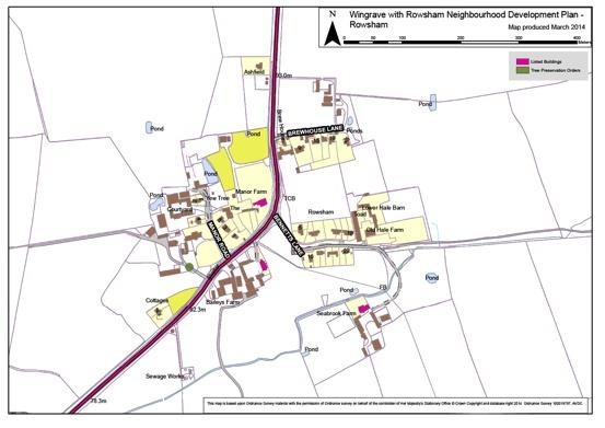 Plan D Rowsham Village