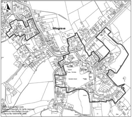 Plan E Wingrave Conservation Area