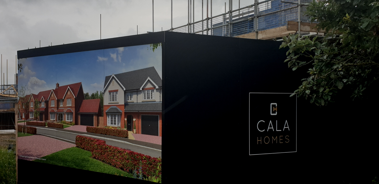 Cala Homes in Wingrave